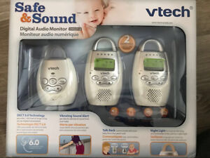 VTech baby monitor audio