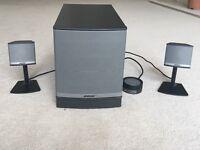 Bose Companion 3 speakers.