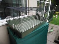 Selling indoor rabbit hutch with stand