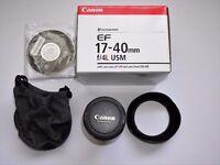 canon 17-40mm f4 L lens