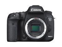 Canon EOS EOS 7D Mark II 20.2MP Digital SLR Camera - Black (Body Only)