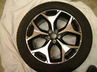 Subaru Forester XT (2013) Wheel With Tyre, 18 x 7J, Used for 20 miles only