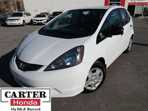 2013 Honda Fit DX-A + LOW KMS + ACCIDENTS FREE + CERTIFIED!