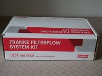 Franke Filterflow System Kit tap and filter for removing chlorine smells and more from tap water