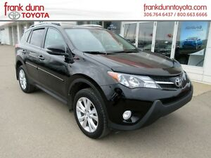 2015 Toyota RAV4 AWD Limited **DEMO MODEL! only 256 bi weekly 0