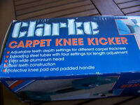 CARPET KNEE KICKER,LITTLE USE BOXED BEEN STORED