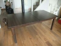 Ikea Stornäs Large Dining Table seats 6-8 modern design solid pine