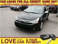 2008 Ford Focus SES * NEW CARS DAILY * EASY CAR LOANS