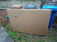 Cardboard bike box