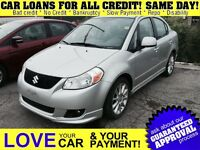 2009 Suzuki SX4 Sport * CAR LOANS UP TO $70,000
