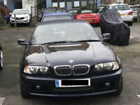Blue Convertible BMW 320 for Sale