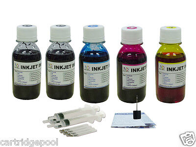 Refill Ink Kit For Canon Pg-40 Cl-41 Mp150 Mp160 Mp460 Mp...