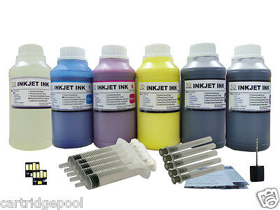 Pigment Refill Ink With 2 Chips For Kodak 10:esp 3 3250 5...