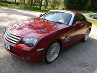 Chrysler Crossfire 3.2l V6 auto coupe in blaze rred