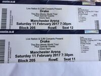Pair of Drake tickets