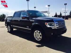 2014 Ford F-150 S/CREW 4X4 PLATINUM LOADED 38000KM