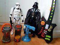 Boys toy bundle (Star Wars / Minions / Fungus Amungus)