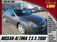 2008 Nissan Altima 2.5S A/C CRUISE MAGS