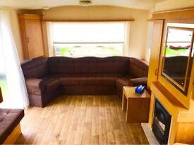 Family Caravan For Sale On A 12 Month Season Holiday Park With Direct Beach Access Near Wemyss Bay