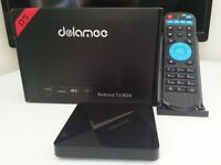 fully loaded 4k latest android tv box with newest kodi and best build