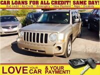2009 Jeep Patriot Sport/North * CAR LOANS EASY AS 1 2 3