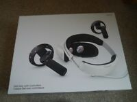Dell VRP100 virtual/mixed reality headset and bluetooth controllers. BNIB.
