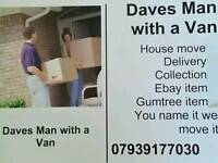 Dave's man with a van