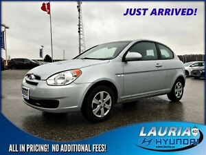 2009 Hyundai Accent 3DR GL Manual - 1 owner