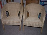 Two Chirldren's Wicker Chairs- Excellent condition!