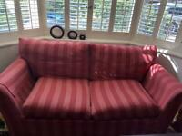 Sofa bed and matching sofa with FREE DELIVERY
