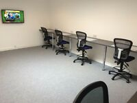 Desk, meeting room and training room hire in Leith, Edinburgh