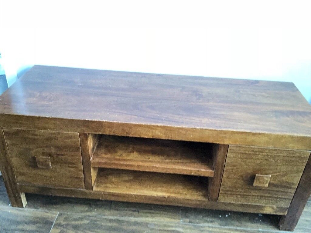 Mango Furniture Set Tv Unit Sideboard Nest Of 3 Tables In Durham County Durham Gumtree