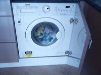 Integrated Washer Dryer Zanussi ZWT71201WA