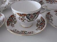 Colclough Royale China 15 pieces set