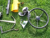 AN ASSORTMENT OF NEW AND USED BOAT AND TRAILER PARTS