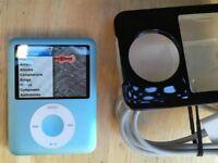 Apple iPod Nano 3rd Gen 8gb - Grafite Good Condition