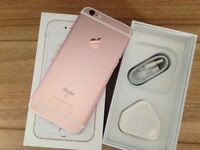 IPHONE 6S 32GB Rose SE GOLD BRAND NEW SEAL BOX UNLOCKED APPLE WARRANTY & SHOP RECEIPT