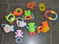 Baby bundle first toys rattles teething toys