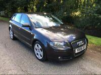 Audi a3 2.0 tdi fsh grey