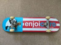 Enjoi pro skateboard full set up, inc independent trucks and ricta wheels