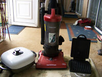 CLEAR OUT IDEAL BOOTSELLER,VACUUM CLEANER,MULTICOOKER (NEW) ELECTRIC TYPEWRITER ETC