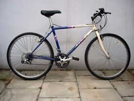 Mens Mountain/ Commuter Bike by Specialized, White & Blue, Old School, JUST SERVICED / CHEAP PRICE!!