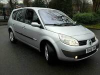 RENAULT G-SCENIC 7 SEATER DYNAMIQUE 1.6 PETROL LOWMILEAGE