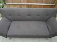 Cargo Sofa Bed (Charcoal Grey) Good Condition