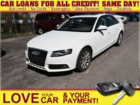 2012 Audi A4 2.0T (Tiptronic) * LEATHER * POWER ROOF