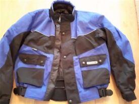 """""""Lewis"""" Motorbike Textile Jacket Size Large"""