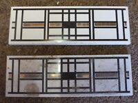 FREE Art Deco inspired ceramic tiles x 2