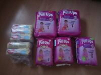 Brand new Huggies bundle- pull ups/ training pants minnie mouse, wipes