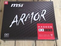 MSI RX 580 ARMOR 8GB OC Graphics card
