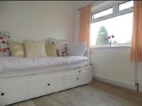 Ikea Hemnes White Daybed with 2 Mattresses - Immaculate Condition